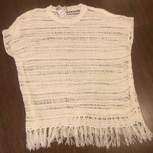 NWT forever 21 crochet cover up